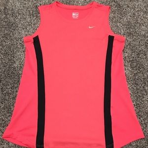 Women's Medium Nike Activewear Pink Sleeveless